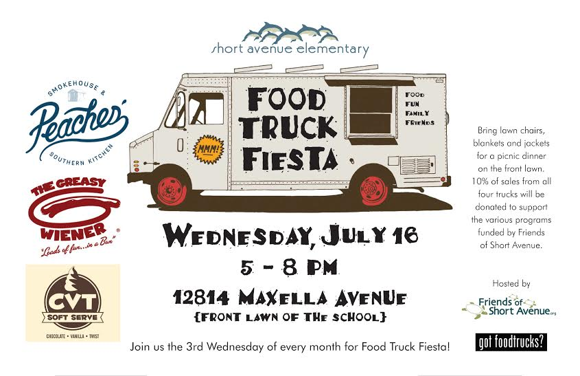 School Fundraiser Food Truck In Ventura