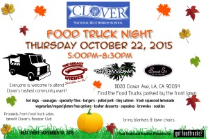 los angeles food trucks clover avenue elementary school fundraiser movie night mar vista palms